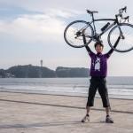 江ノ島でロードバイクをレンタルしてサイクリングに挑戦!